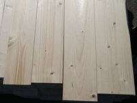 Hoblované prkno 19 x 195 x 5000 mm, smrk, s fází