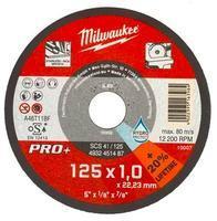 Milwaukee Řezné kotouče na tenký kov PRO+ SCS 41/125x1