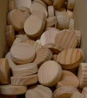Borovicové suky (masiv), 25 x 7 mm, 1 ks