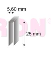 364/25 ZN M sponky, 6000 ks