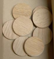 Dubové suky (masiv), 30 x 7 mm, 1 ks