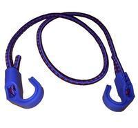 Sada 2 ks gumových popruhů 1,2 m, nastavitelné, průměr 8 mm, modrý