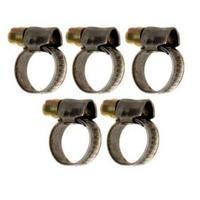 Sada hadicových spon 10 - 16 mm, 5 ks