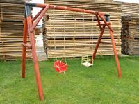 Dřevěná dětská houpačka (skládačka)