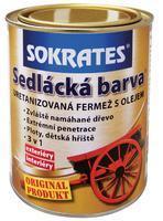 Sokrates Sedlácká barva tmavá šedá 0130 4 kg
