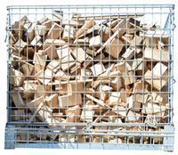 Palivové dřevo sušené tvrdé - přířezy sypané