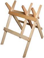 Dřevěná koza na řezání dřeva skládací