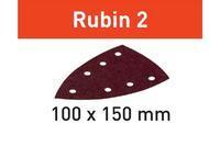 Festool Brusný papír STF DELTA/7 P100 RU2/50 Rubin 2