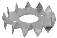 Prstenec zubatý dvoustranný 75 x 26 mm, PZD 3