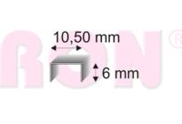 345/06 ZN BL sponky, 1400 ks