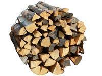 Suché měkké palivové dřevo štípané 0,33m v bigbagu 1,75prms