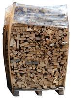 Palivové dřevo sušené tvrdé - přířezy skládané