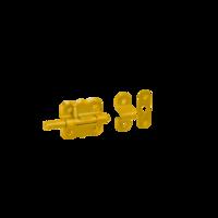 Zástrč s kulatým jezdcem 50 x 40 mm, WRO 50