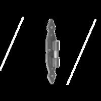 Dekorační čepový držák s nasazovací krytkou 11 x 220 x 4 mm, CA 11