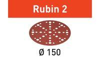 Festool Brusné kotouče STF D150/48 P120 RU2/10 Rubin 2