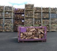 Suché tvrdé palivové dřevo štípané 0,25m/1,5prms