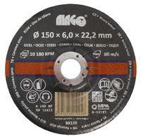 Brusný kotouč na kov 150x6x22,2mm