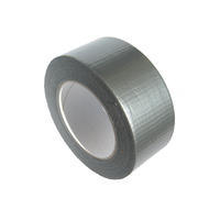 Textilní stříbrná DUCT páska 48mmx10m ČS
