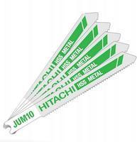 HITACHI plátek do přímočaré pily na kov JUM10