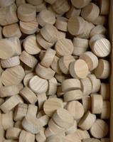 Dubové suky (masiv), 15 x 7 mm, 1 ks
