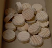 Borovicové suky (masiv), 20 x 7 mm, 1 ks
