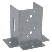 Patka čtvercová, otevřená, pozink. ocel 101 x 150 x 2 mm PSP 100 DX
