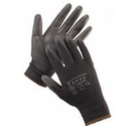 BUNTINGBLACK rukavice nylonové PU dlaň vel. 8