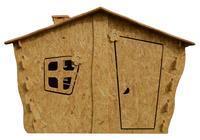 Dětský domek OSB 2130 x 1255 x 1440 mm