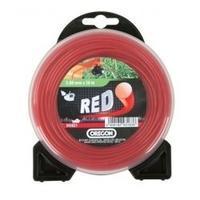 Nylonové lanko červené kruh 2,4 mm x 15 m