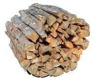 Suché měkké palivové dřevo štípané 1m/1prm
