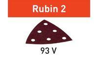 Festool Brusný papír STF V93/6 P100 RU2/50 Rubin 2