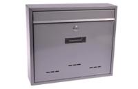 Schránka poštovní šedá RADIM V 360x310x90mm