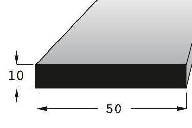 Lišta hladká 5010 BOROVICE/200
