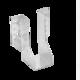 Trámová botka 60 x 160 x 2 mm, WB16 - 1/3