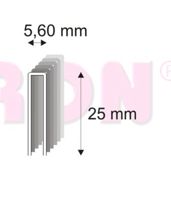 364/25 ZN M truhlářské spony, 6000 ks v balení