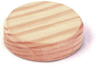Borovicové suky (masiv), 40 x 7 mm, 20 kg - 1