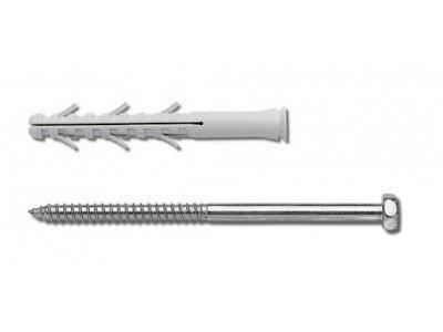 Hmoždinka rámová se šestihranným vrutem RMS 8 x 60 mm