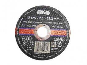 Řezný kotouč na kov 125x2,5x22,2mm
