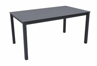 Stůl pevný obdélníkový CALVIN šedý I. - 1