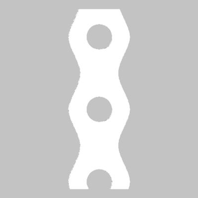Montážní páska 12x0,7x3 m, bílá, Bl TM 11