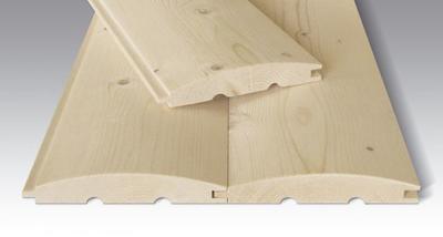 Srubová palubka 24 x 146 x 4000 mm borovice (2,92 m2)