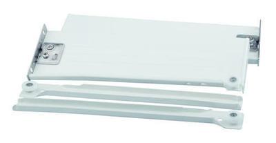 Výsuv s bočnicí H86/500 bílý