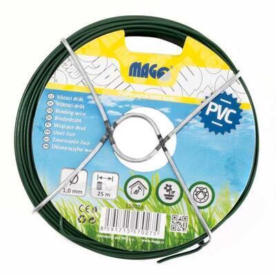 Vázací drát PVC 1,0mm - 25m