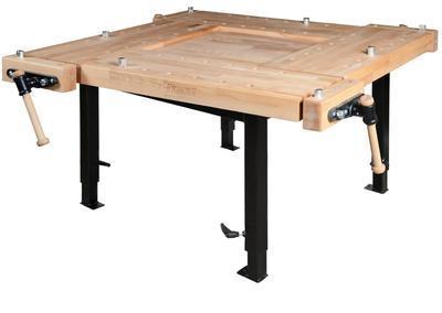 Hoblice SCHOOL 3, délka 1450 mm, nastavitelné hydraulické podnoží - 1