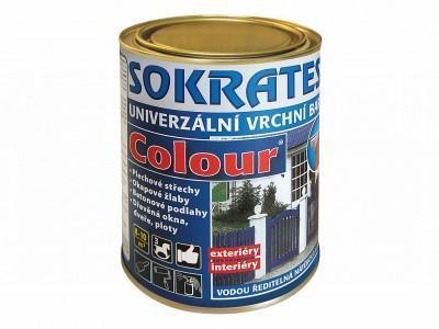 Sokrates colour tmavě zelená 0,7 kg pololesklá - 1