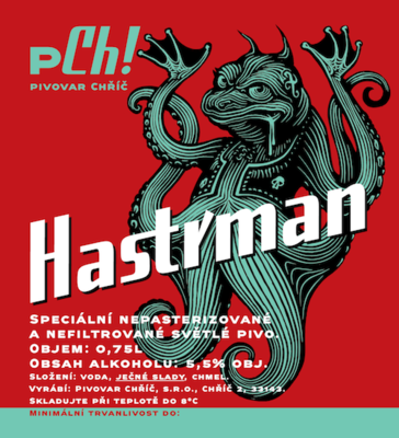 Hastrman Speciál 13° PET 1,5 l