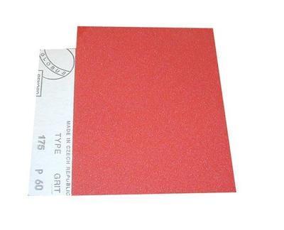 Papír brusný na dřevo P40, 230 x 280 mm, typ 145