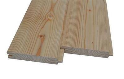 Palubka podlahová 20 x 120 x 4000 mm, A/B Sibiřský modřín (2,4 m2)