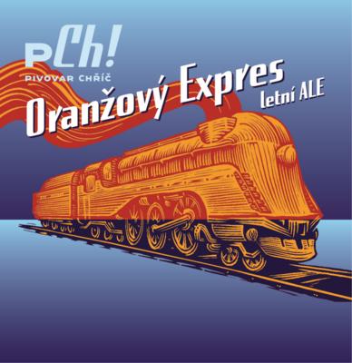 Oranžový Expres 10° sklo 0,75 l