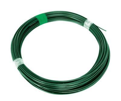 Drát napínací PVC 3,4mm/26m zelený